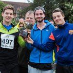The BEET Swiss Rolls - winners of the Fun Run Quality English Trophy!
