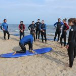 Learning to Surf at Bournemouth Beach